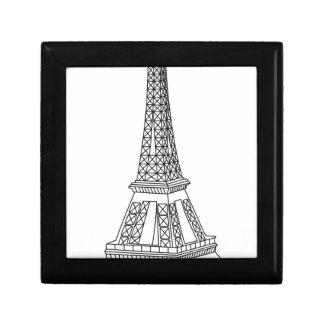 reis Eiffel Decoratiedoosje