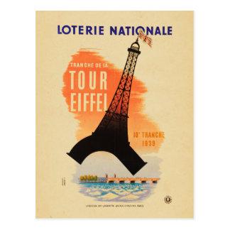 Reis Eiffel loterie nationale Briefkaart