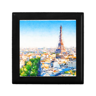 Reis Eiffel - Parijs Decoratiedoosje