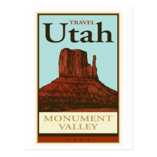 Reis Utah Briefkaart