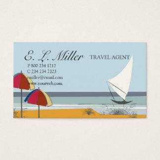 Reis van de Vakantie van de Zeilboot van de Boot Visitekaartjes