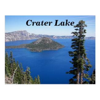 Reis van het Park van het Meer van de krater de Briefkaart