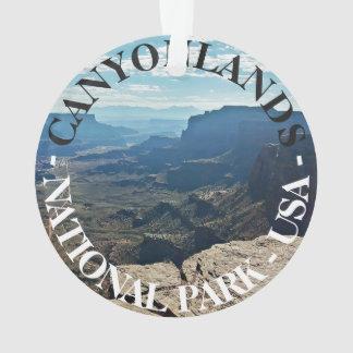 Reis van Utah de V.S. van het Park van Canyonlands Ornament