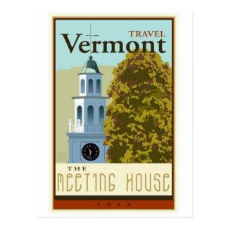 Reis Vermont Briefkaart