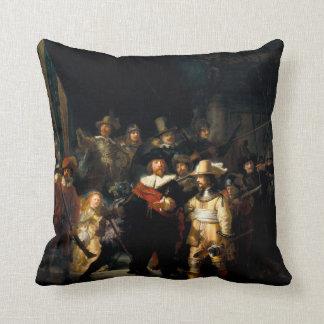 Rembrandt het Horloge van de Nacht werpt Sierkussen