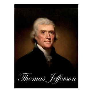 Rembrandt_Peale-Thomas_Jefferson 1 Briefkaart