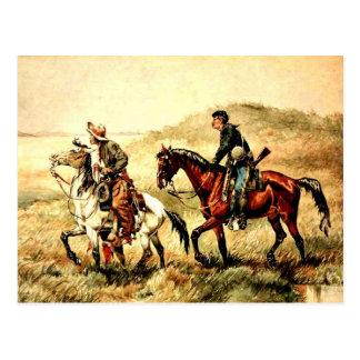 Remington - de Koeriers, het art. van Frederic Briefkaart
