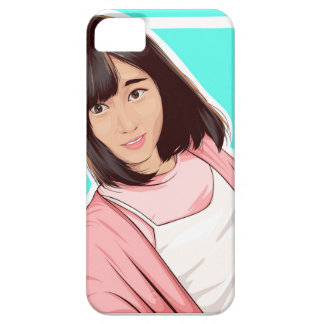 Rena Nozawa AKB48 vectorhoesje Barely There iPhone 5 Hoesje