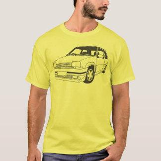 Renault 5 de geïnspireerde T-shirt van GT Turbo