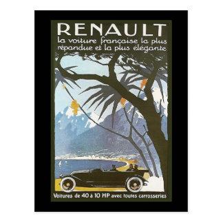 Renault Briefkaart