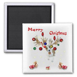 rendier Kerstmis Magneet