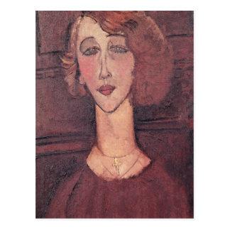 Renee, 1917 briefkaart