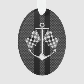 Rennen van de boot Zeevaart in de Zwarte Stijl van Ornament