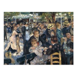 Renoir Bal du Moulin DE LaGalette briefkaart Wens Kaarten