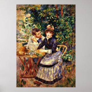 Renoir - in de Tuin Poster