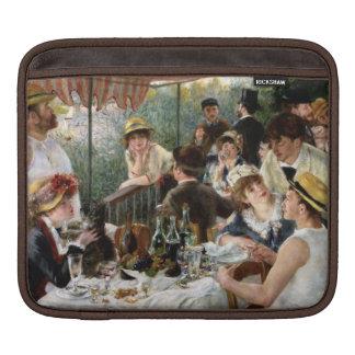 Renoir: Middagmaal van de Partij van het Roeien iPad Beschermhoes