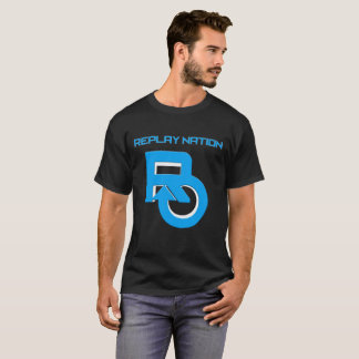 Replay T-shirt van de Kleur van de Natie de