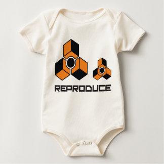 Reproduceer het Overhemd van het Baby van de Reden Baby Shirt