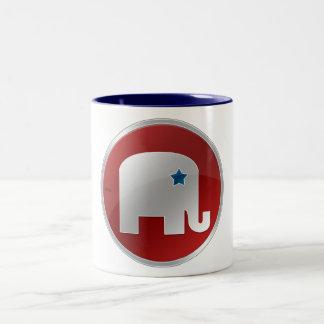 Republikeins Tweekleurige Koffiemok
