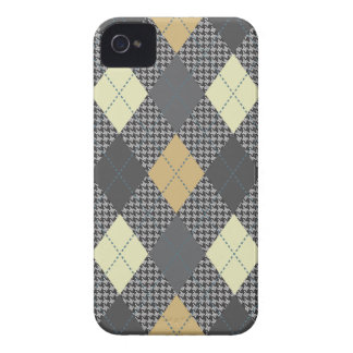Retro Argyle Trendy Multi iPhone 4 Hoesje