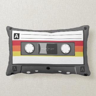 Retro AudioHoofdkussen van de Band van de Cassette Lumbar Kussen