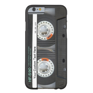 Retro Band van de Cassette Barely There iPhone 6 Hoesje