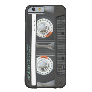 Retro Band van de Cassette Barely There iPhone 6 Case