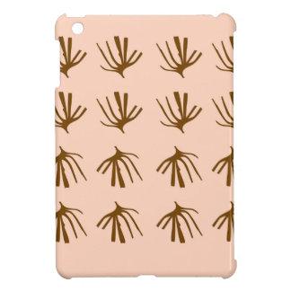 Retro beige van ZEEWIEREN Hoesjes Voor iPad Mini