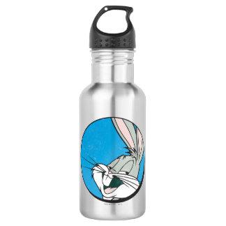 Retro Blauwe Flard van INSECTEN BUNNY™ Waterfles