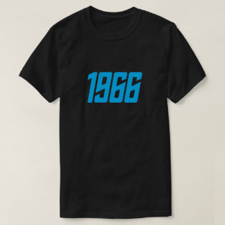Retro (blauwe) T-shirt van 1966