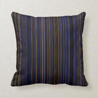 Retro bruine paarse blauwe hoofdkussen van het sierkussen