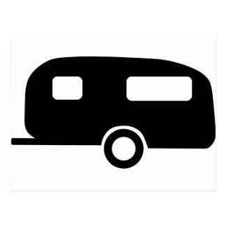 Retro Caravan Briefkaart