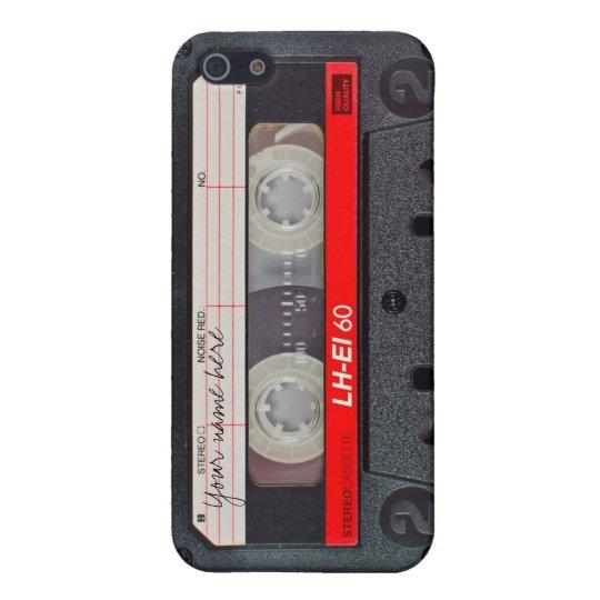 Retro cassette tape case iPhone 5 cover