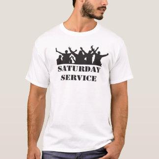 Retro casual terrassent-shirt, de jaren t shirt