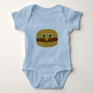 Retro Cheeseburger Romper