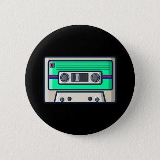 Retro - de Knoop van de Cassette Ronde Button 5,7 Cm