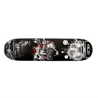 Retro Dek van de Muziek 19,7 Cm Skateboard Deck