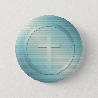 Retro Dwars Grafisch Embleem Ronde Button 5,7 Cm