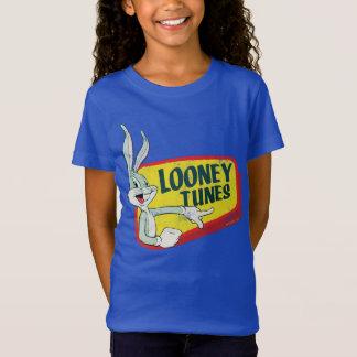 Retro Flard LOONEY TUNES™ van INSECTEN BUNNY™ T Shirt