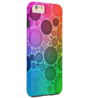 Retro Fluorescent Patroon Tough iPhone 6 Plus Hoesje