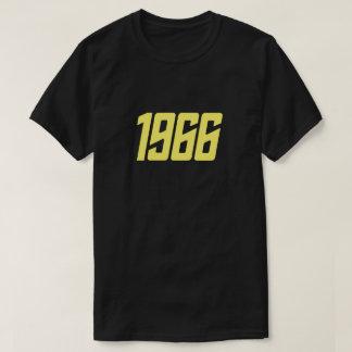 Retro (gele) T-shirt van 1966