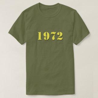 Retro (gele) T-shirt van 1972