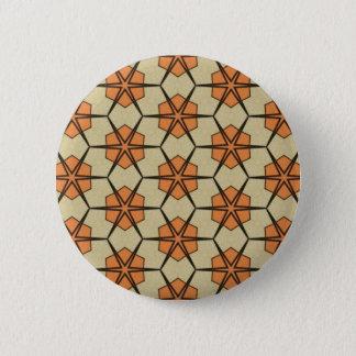 Retro gevormde knoop ronde button 5,7 cm