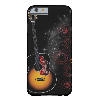 Retro Gitaar Barely There iPhone 6 Hoesje