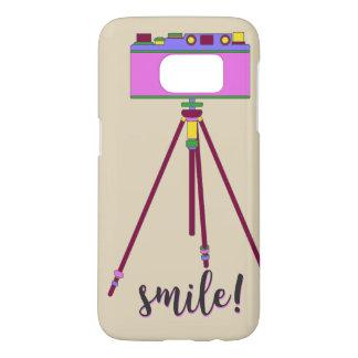 Retro Glimlach Samsung Galaxy S7 Hoesje