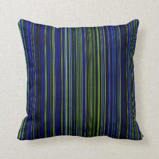 Retro groenachtig blauw het decorhoofdkussen van sierkussen