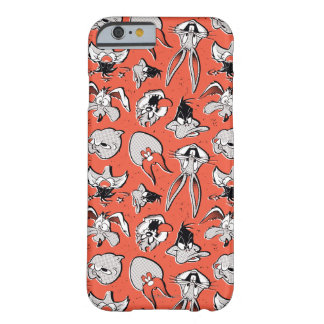 Retro Halftone Patroon LOONEY TUNES™ Barely There iPhone 6 Hoesje