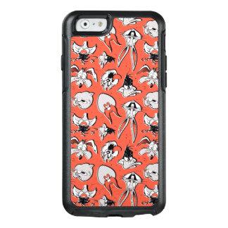 Retro Halftone Patroon LOONEY TUNES™ OtterBox iPhone 6/6s Hoesje