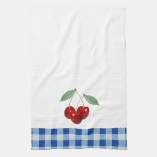 Retro Handdoek van de Keuken van Kersen