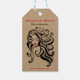 Retro hangende labels van het Product Hairstyling Cadeaulabel